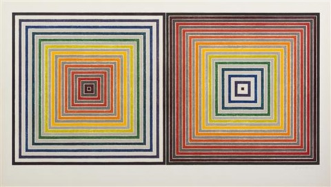 double gray scramble by frank stella