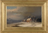 winter in the country by george frederick bensell