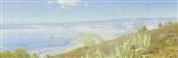 udsigt over rivieraen ved sct. remo by julius andersen