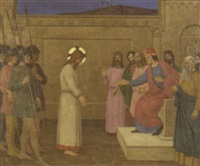 christ before pilate by john ramsey conner