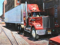 pullen bros. trucking, strip district, pittsburgh, pa by charles m. jackson