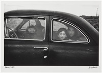 family, (u.s. 90, en route to del rio,texas) by robert frank
