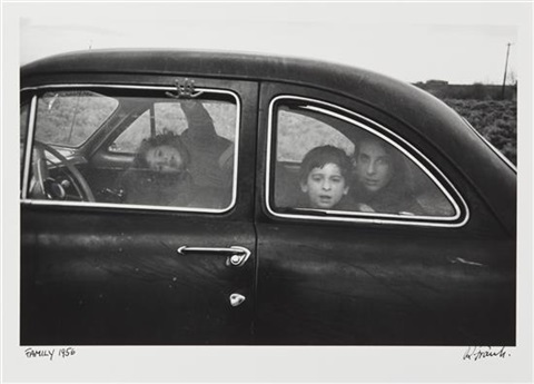 family us 90 en route to del riotexas by robert frank