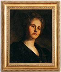 portrait de madame robina jackson by nicolaos xydias typaldos