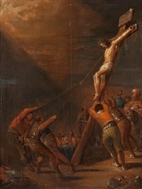 crucifixión by jacob jacobsz de wet the younger
