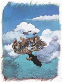 toto l'ornithorynque et les prédateurs, planche 10 (for album) by yoann chivard