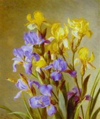 opstilling med liljer by emma mulvad