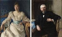 redaktör fredrik vult von steijern (+ maka gerda, lrgr; pair) by richard (sven r.) bergh