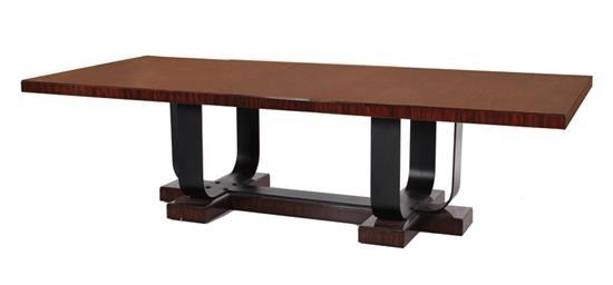 Art Deco Style Dining Table, Ralph Lauren By Henredon By Ralph Lauren