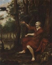 elias mit dem raben by adriaan van der burg