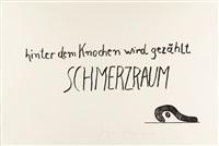 schmerzraum by joseph beuys