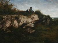 le chasseur by nicolas louis cabat