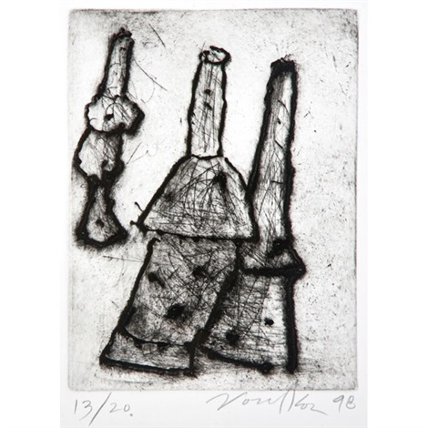 untitled 3 works by peter voulkos
