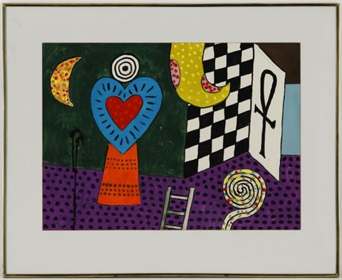 room of the heart no3 by alan davie