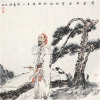古人诗意 (landscape in the style of old masters) by jia lizhu