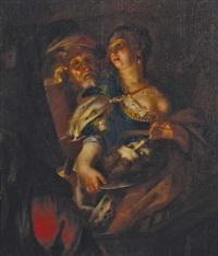 salome mit dem haupt des hl. johannes d.t. by joachim von sandrart the elder