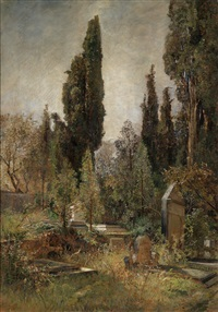 alter friedhof by marie egner