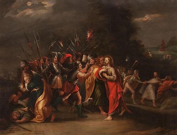 prendimiento de cristo by willem van herp the elder