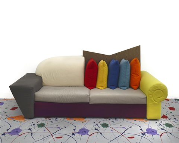 Las Vegas III sofa by Peter Shire on artnet