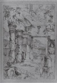 phantastische tempelarchitektur by giuseppe facchinetti