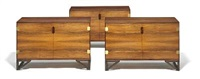 cabinets (set of 3) by svend langkilde