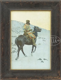 the half-breed by frederic remington