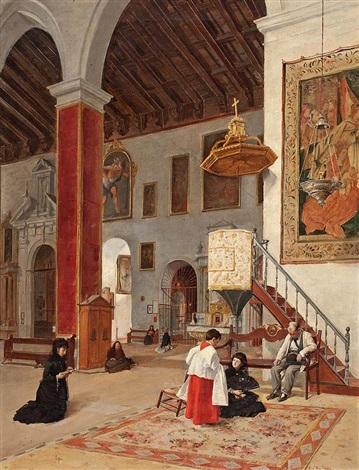 interior de iglesia by manuel cabral aguado bejarano