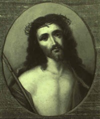 christus mit der dornenkrone by ludwig glotzle