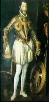 stehendes ganzfigurenportrait eines savoyardischen herzogs by giacomo (jacopo) d' argenta