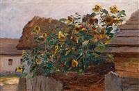 sonnenblumen by olga wisinger-florian