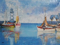 fishing boats 2 by vilany