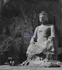 buddha at yungang cave by xue zijiang