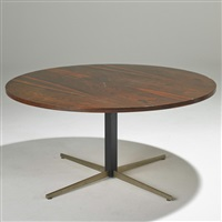 adjustable dining/coffee table, brazil by jorge zalszupin