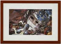 femme masquée by eugène gabritschevsky