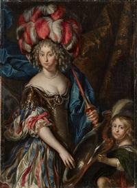 bildnis der grande mademoiselle als amazone(?) by pierre mignard the younger