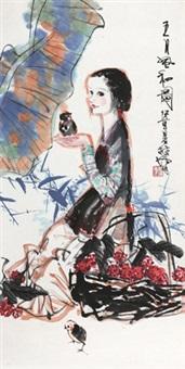 五月风和图 by lin yong