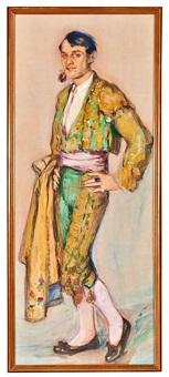 retrato de ismael smith vestido de torero by mariano andreu
