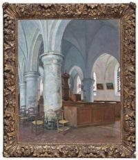 interior de iglesia by henry bouvet