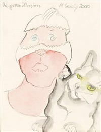 die grosse illusion by maria lassnig