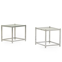 side tables (v-23) (pair) by john vesey