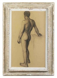 standing male nude by eugene fredrik jansson