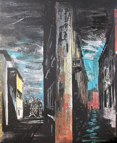 death in venice vii by john piper