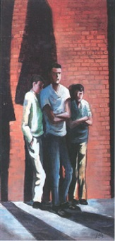 three school boys by herman roderick volz