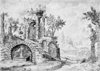 römische ruinen by tobias verhaecht