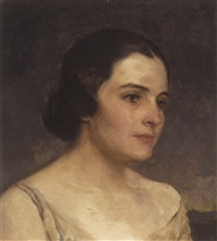 portrait of a lady by john quincy adams