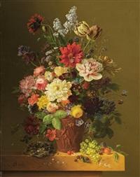 blumenstillleben by arnoldus bloemers
