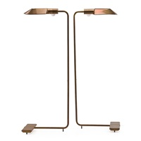 adjustable floor lamps (pair) by cedric hartman