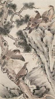 松鹰图 by li chen