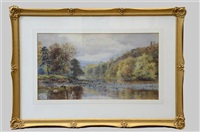 the tay dunkeld by william henry millais