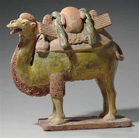 a bactrian camel by anonymous chinese sui dynasty